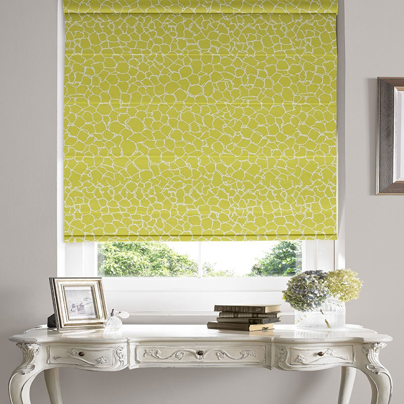 Kingley Gold Roman Blind Chennai Blinds