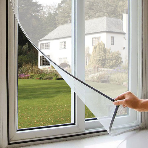 Magnetic Mosquito Net For Windows Velcro Mosquito Net With Magnetic Mesh By Chennai Blinds